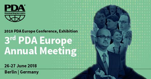 3rd PDA Europe Annual Meeting