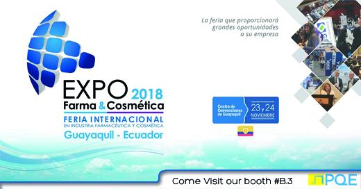 Expo Farma & Cosmética 2018 , Guayaquil Ecuador expo internacional
